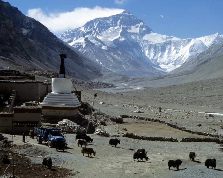 Foto Hans Goger Expedition Mount Everest